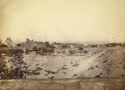 General view of Fort and ruins at Rohtak.